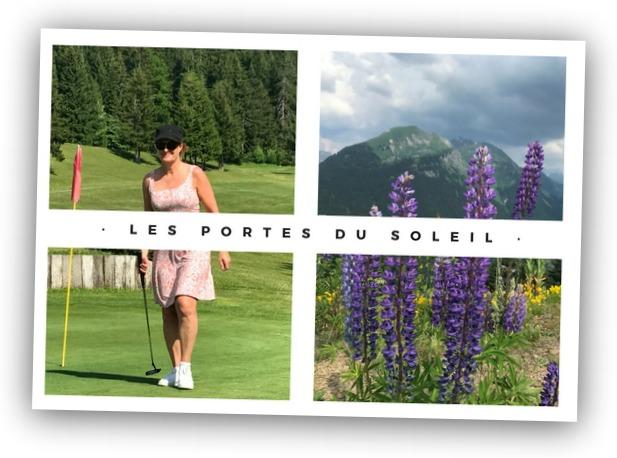 Les Portes du Soleil zomervakantie Franse Alpen golfen