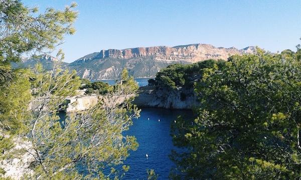 Wandelroute in de omgeving van Cassis