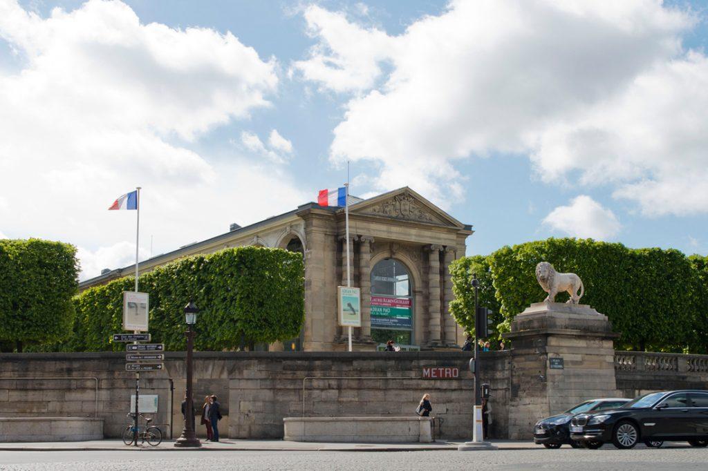 Museum Jeu de Paume in Parijs