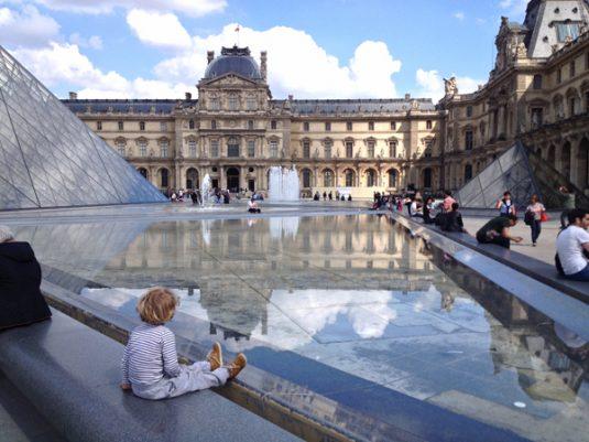 Louvre met kinderen