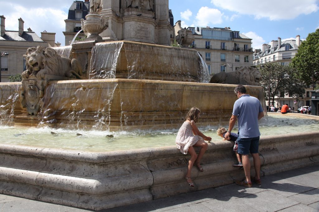 Parijs mooiste fonteinen Saint-Sulpice