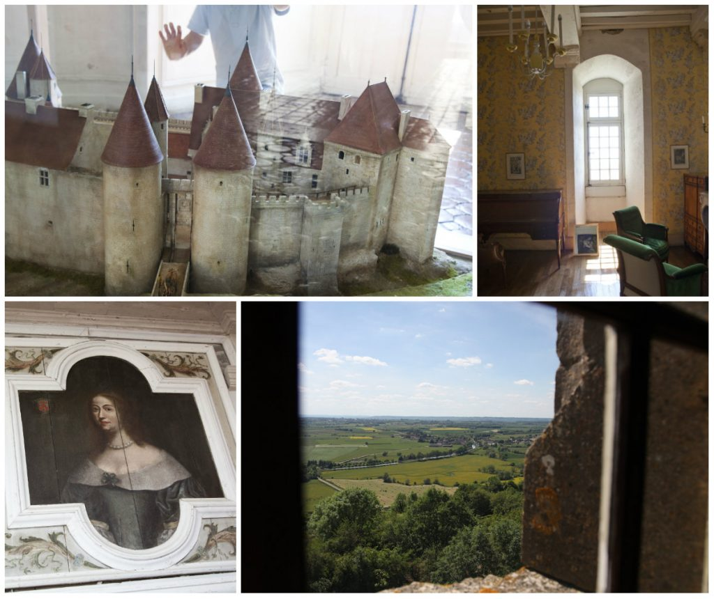 Chateauneuf Bourgogne prachtig dorpje kasteel