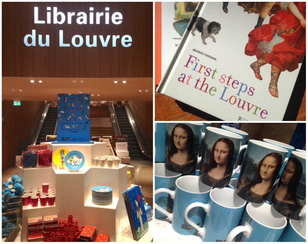Louvre museumwinkel boekhandel
