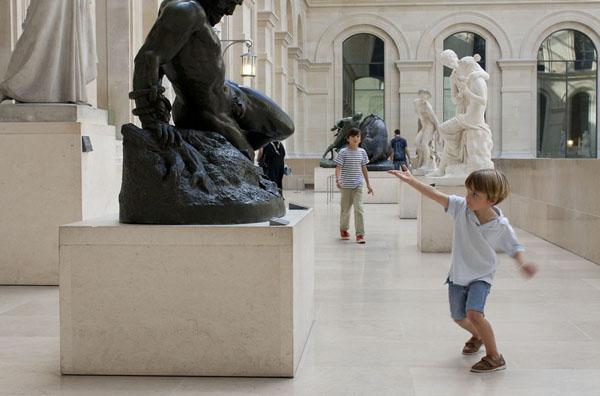 Louvre met kinderen Parijs