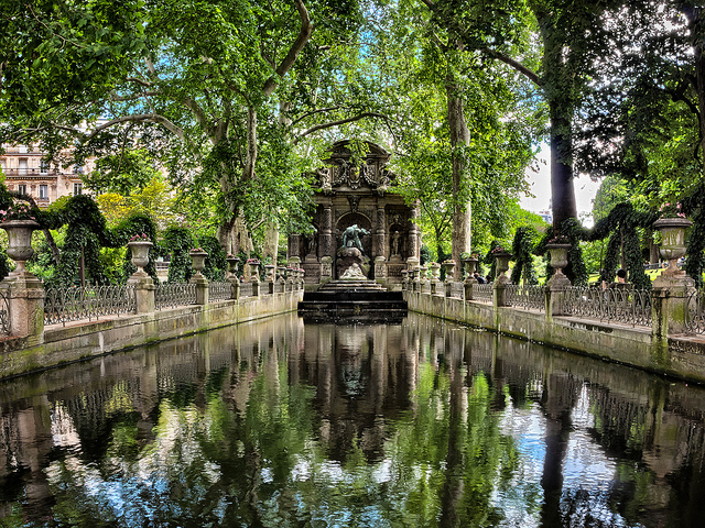Parijs mooiste fonteinen Medicis Jardin du Luxembourg