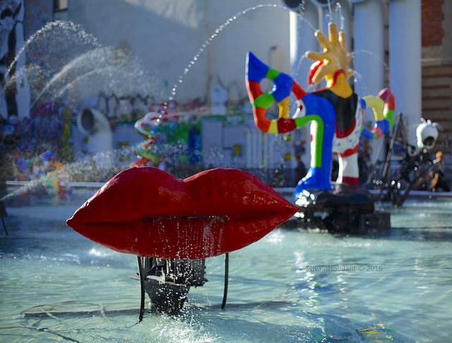 Parijs fonteinen zomertip stravinsky fontein Pompidou