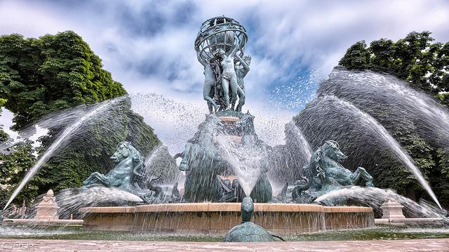 Parijs mooiste fonteinen de l'Observatoire