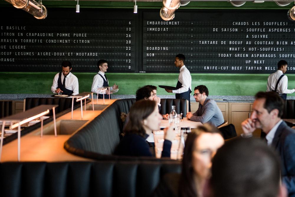 Restaurant Ducasse Parijs Champeaux Les Halles