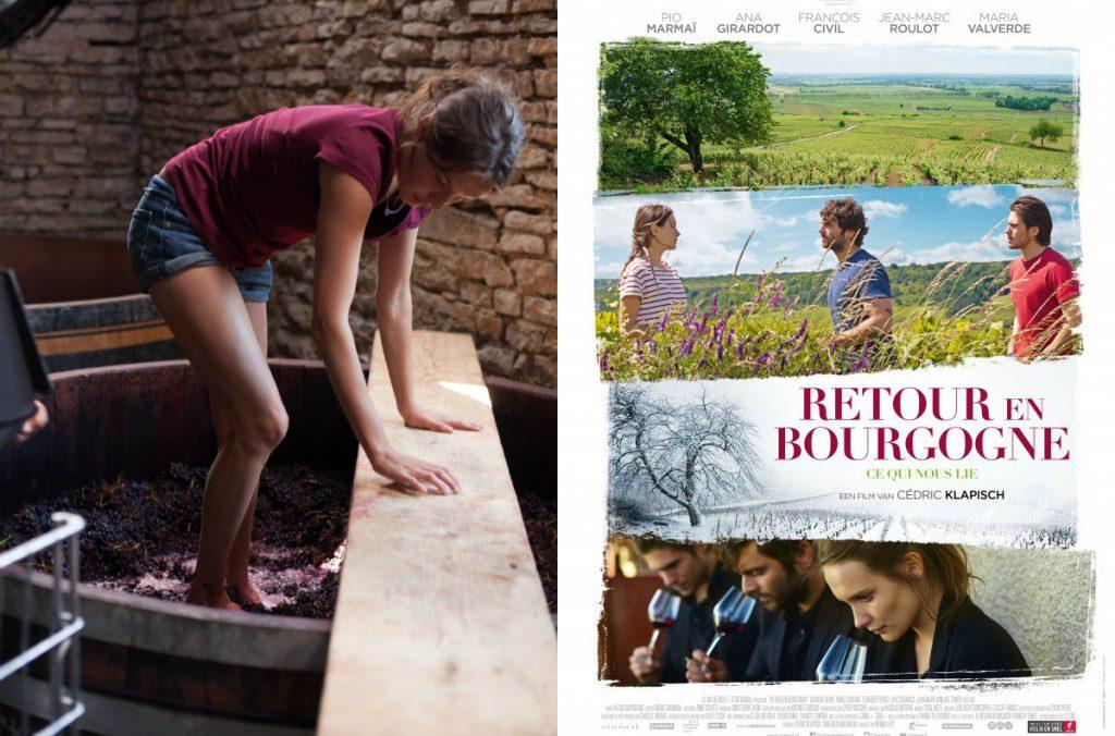Film Retour en Bourgogne Klapisch wijnboer wijngaard