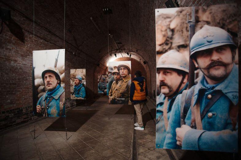 Verdun Lorraine WOI ondergrondse citadel