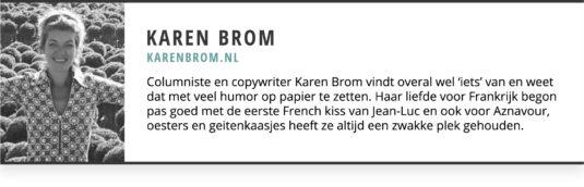 Karen Brom Gastblogger