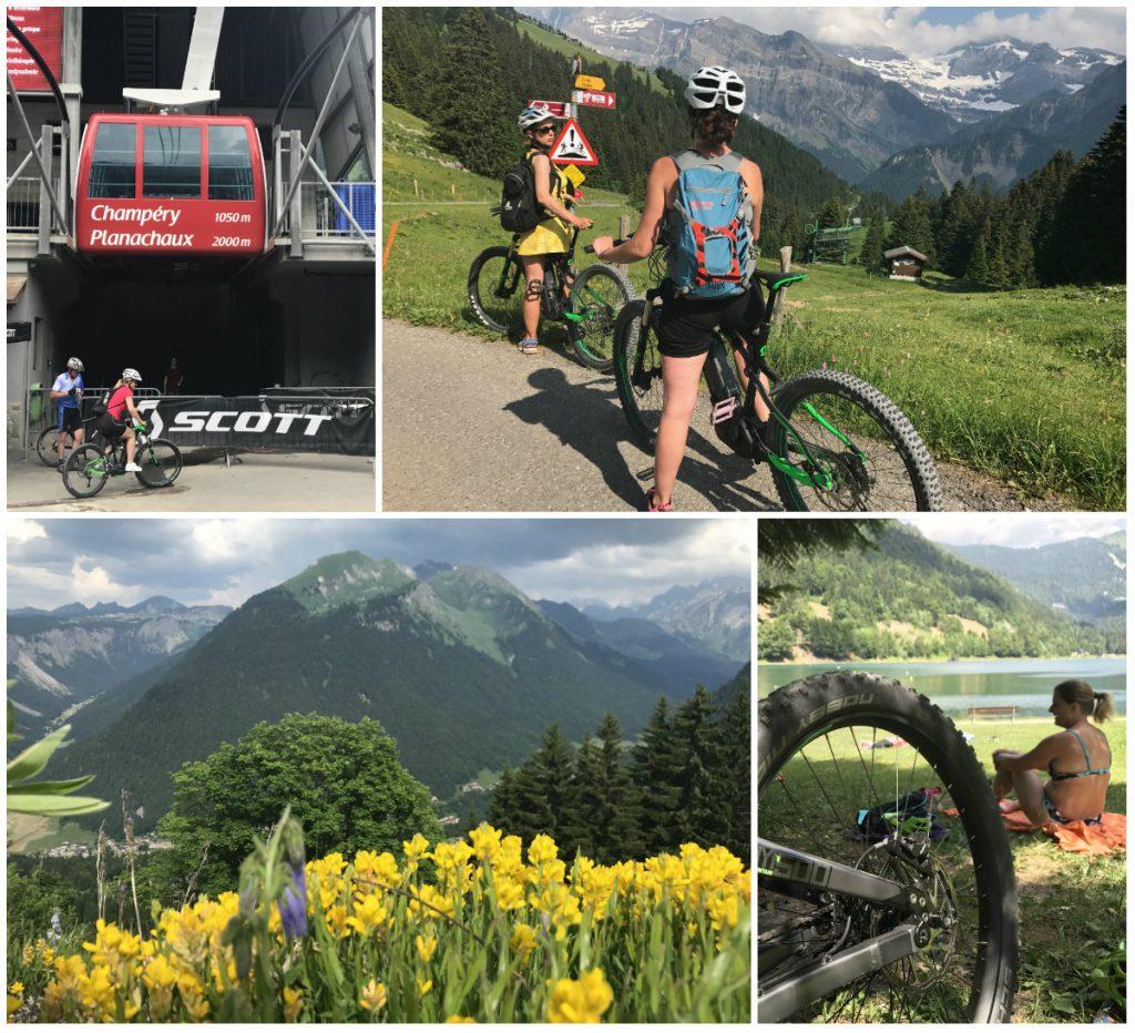 Mountainbiken in Portes du Soleil