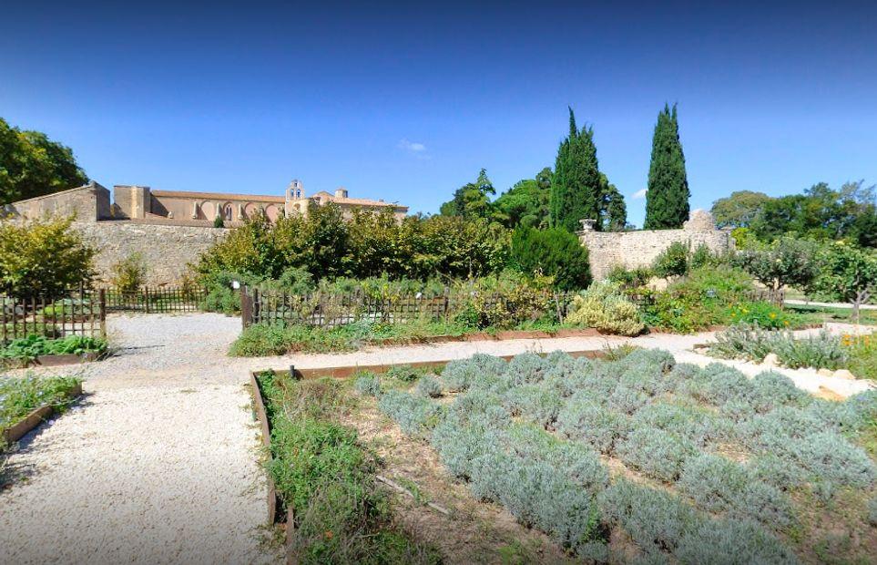 adbij Valmagne bezoeken Herault Languedoc vakantie
