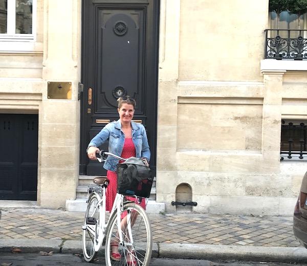 fietsen in Bordeaux