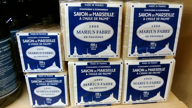 Savon de Marseille Marius Fabre met palmolie