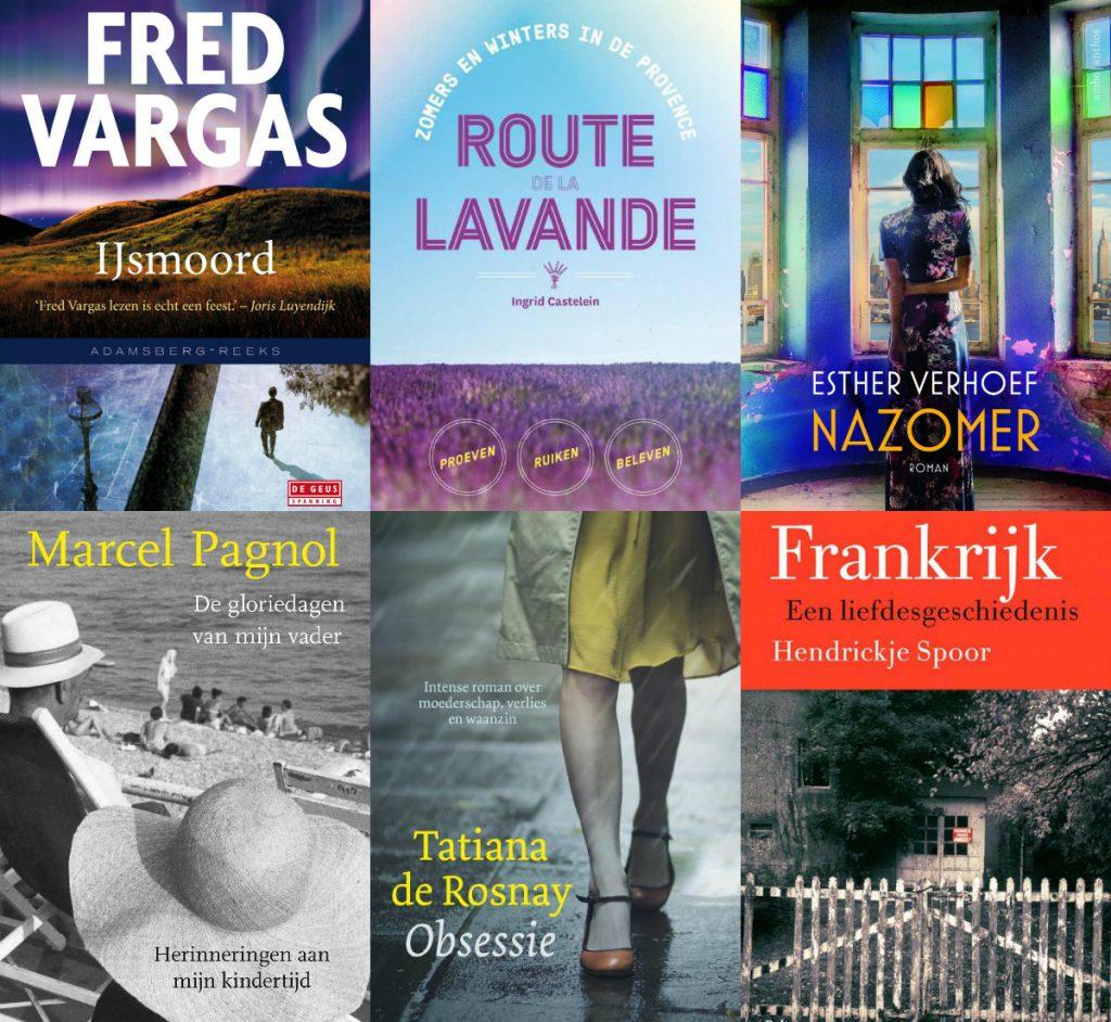 Vakantieboeken tips lezen vakantie frankrijk