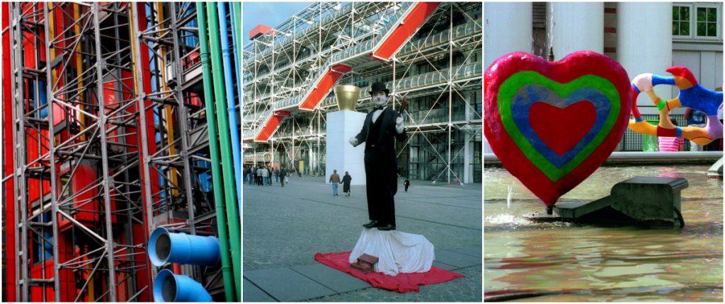 Parijs met kinderen Centre Pompidou