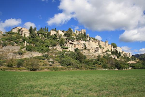 Montbrun pittoresk dorp Drôme