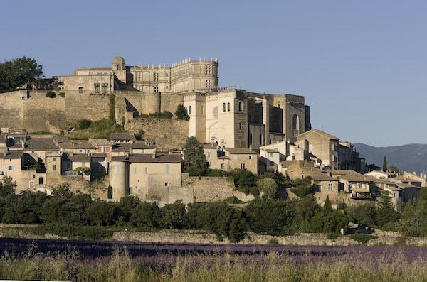 Grignan kasteeldorp Drôme