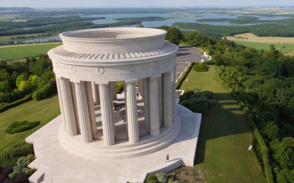 Regionale natuurpark Lorraine Lac de Madine Amerikaanse monument