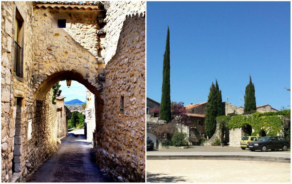 Garde Adhémar middeleeuw dorp Drôme