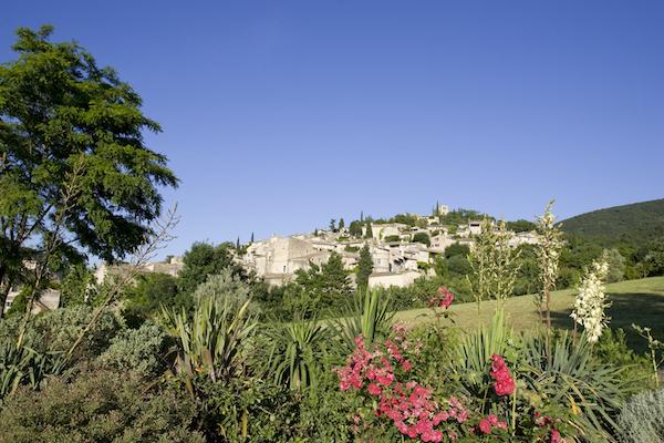 Mirmande middeleeuw dorp Drôme