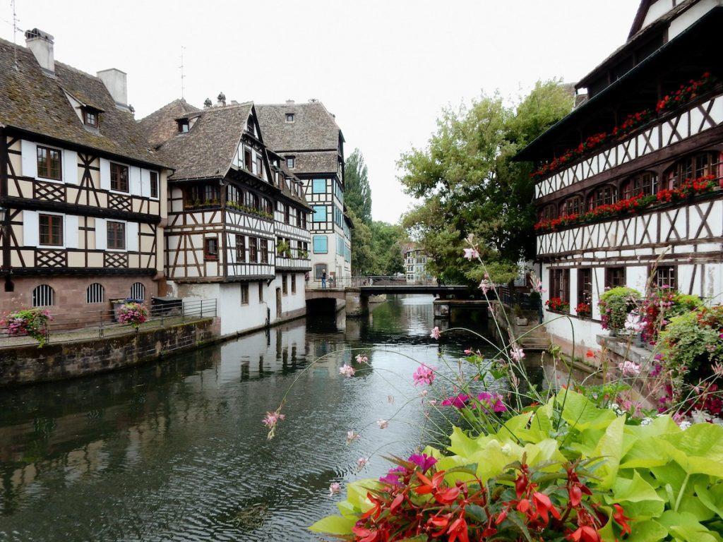 Straatsburg wijk Petite France