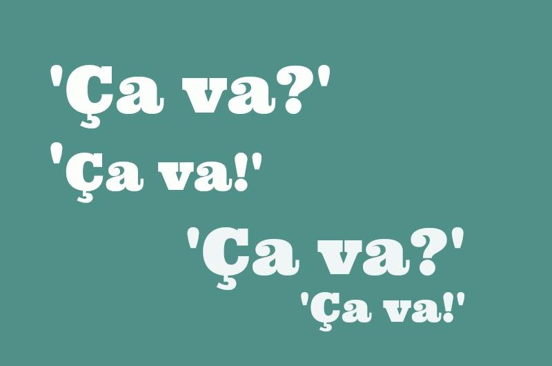 verwarrende FRanse woorden uitdrukkingen ca va ca va