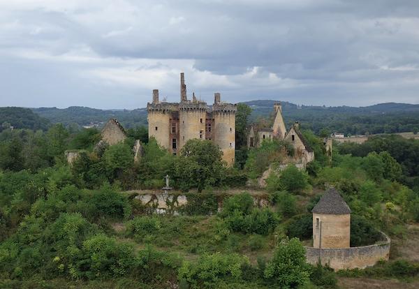 Chateau Saint Vincent le Paluel bij Sarlat in de Dordogne