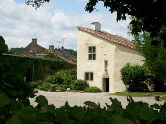 Domremy geboortehuis Jeanne d'Arc Vogezen, Lorraine