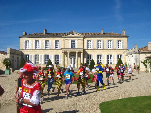 De gekste marathon van frankrijk - Aperitief plateau huis van de wereld ...