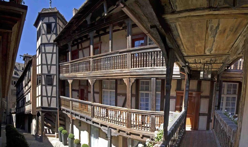Mooi hotel in Straatsburg Cour du Corbeau