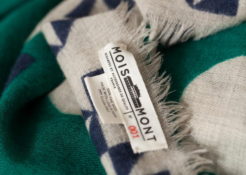 Made in France sjaals uit Picardie Moismont
