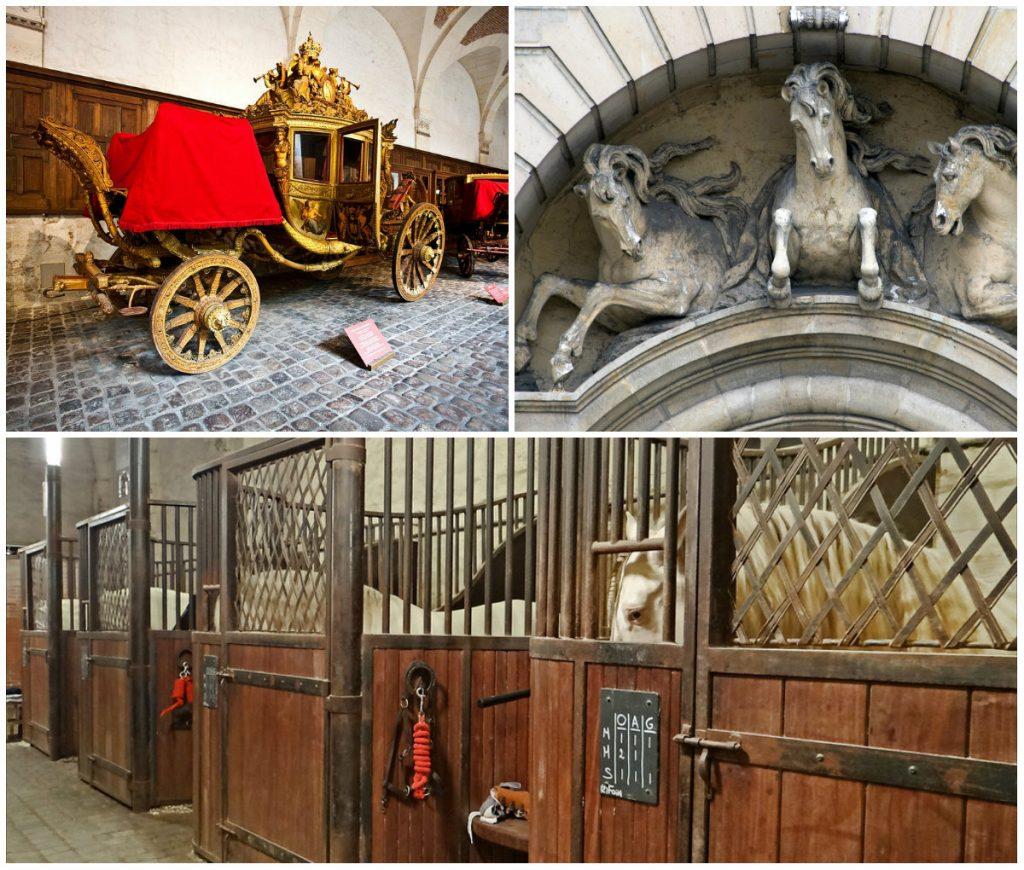 chateau de versailles stallen koetsmuweum paarden
