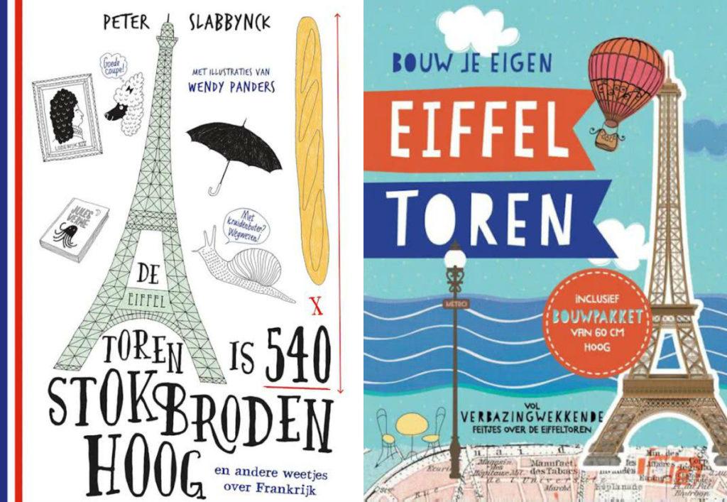 kinderboeken over de Eiffeltoren