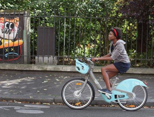 Nieuwe Velib in Parijs fietsenplan