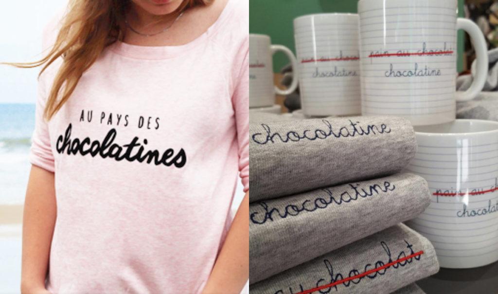 Chocolatine versus Pain au chocolat t-shirt mokken