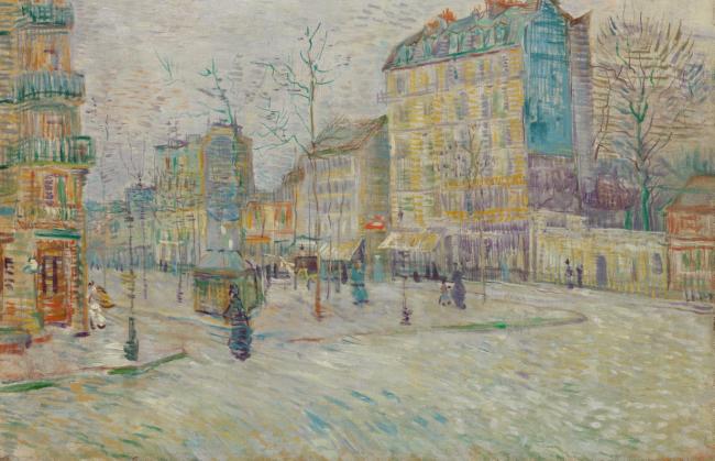 Van Gogh boulevard de Clichy