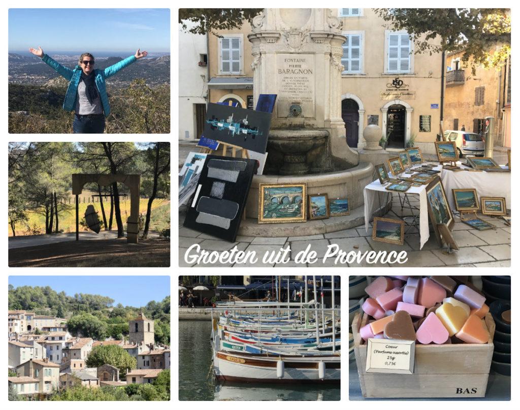 Groeten uit de Provence