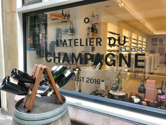 Franse adressen in Amsterdam Atelier du Champagne