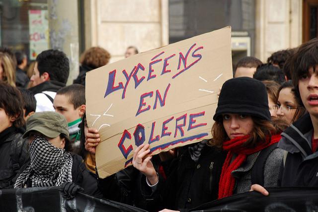 staken in Frankrijk stakingen