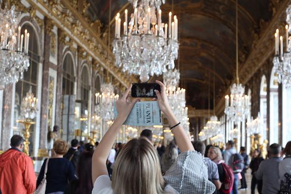 chateau de versailles de drukte omzeilen tips Spiegelzaal