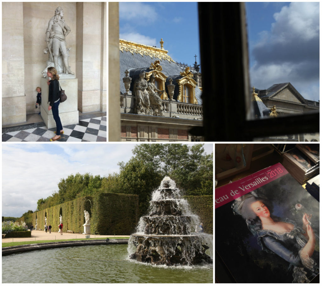 chateau de versailles Nicky B
