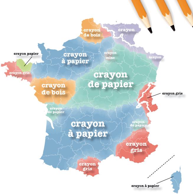 crayon a papier taalstrijd frankrijk kaart