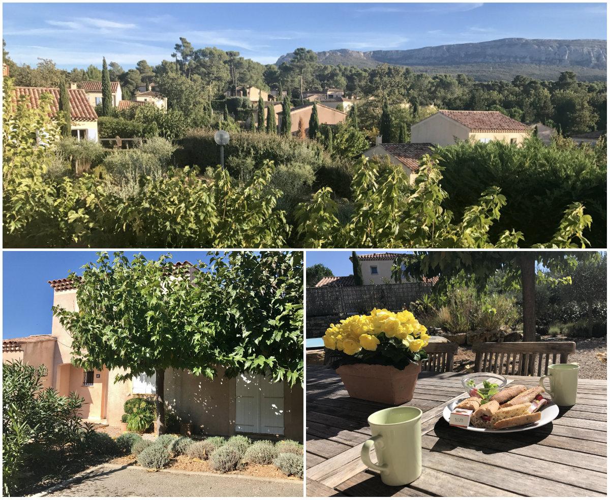 Villapark n de Provence bij Jardins du Golf Nans-les-PIns
