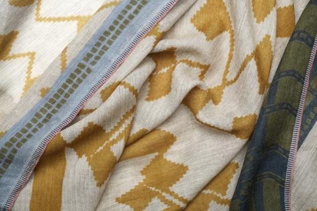 Moismont Made in France sjaals uit Picardie