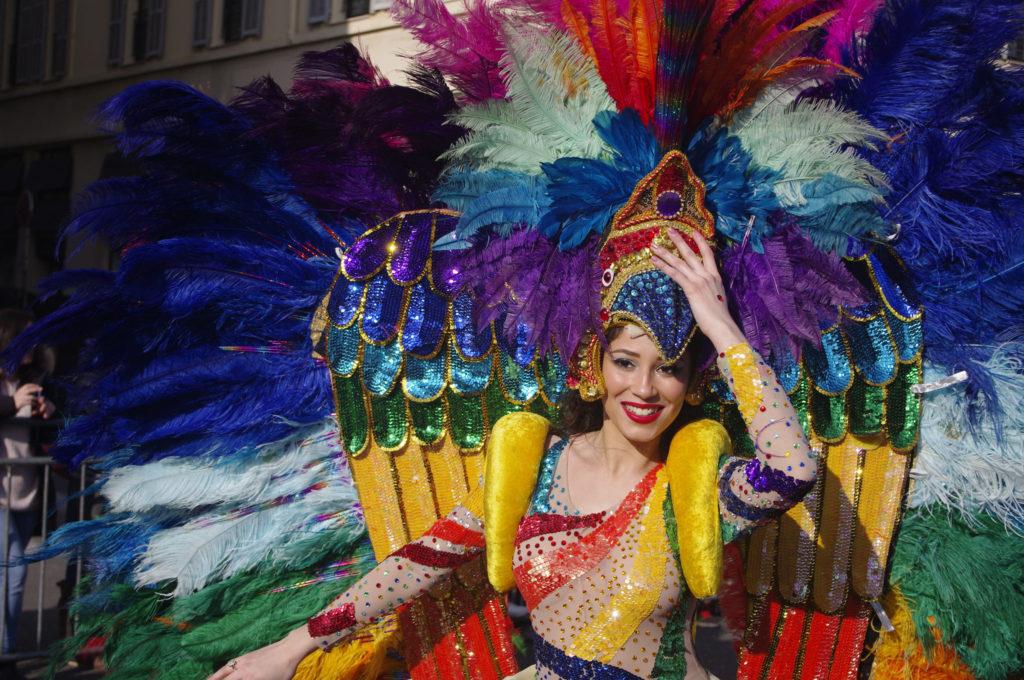 Nice carnaval danseres