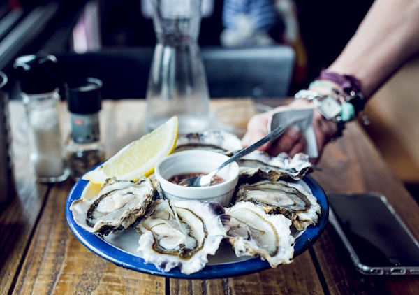 oesters in Parijs