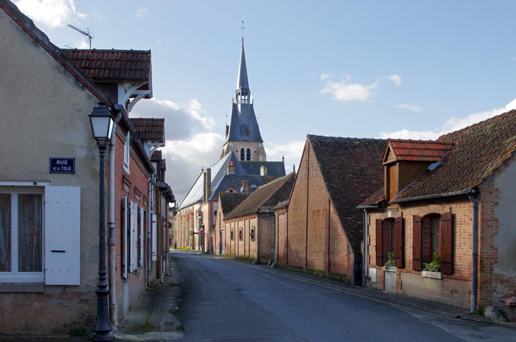 Chaumont sur Tharonne dorp Sologne