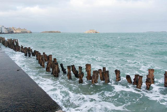 springtij Bretagne Saint-Malo golven